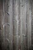Viejos tableros verticales Fotografía de archivo libre de regalías