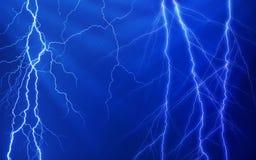 Viel der Blitze Stockfotos