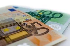 Viel europäisches Geld Lizenzfreie Stockfotografie