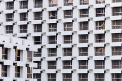Viel Fenster des Gebäudehintergrundes lizenzfreie stockfotografie