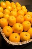 Viel frische rohe Orange Lizenzfreie Stockfotografie