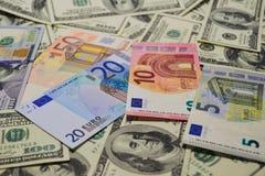 Viel Geld Viele Banknoten Lizenzfreie Stockfotografie