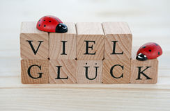 Viel Glueck Stock Photography