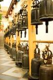 Viel große Glocke in Doisuthep-Tempel, Thailand Lizenzfreies Stockbild