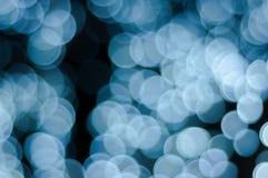 Viel großes Kreisblasenblau Stockfotografie