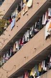 Chinesischer Schlafsaal, Wohnung Stockfotos