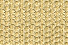Viel prägt glänzendes Gold Bitcoin für Hintergrund oder Beschaffenheit Stockbilder