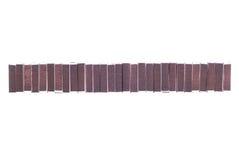 Viel Streichholzschachtel lokalisiert auf weißem Hintergrund Lizenzfreie Stockbilder