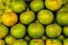 Viel Tangerine für Verkauf Lizenzfreies Stockfoto