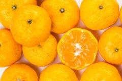 Viel Zitrusfrucht Lizenzfreies Stockbild