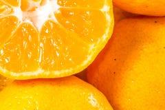 Viel Zitrusfrucht Stockbild