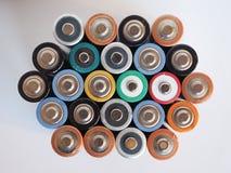 Viele AA-Batterien Lizenzfreie Stockbilder