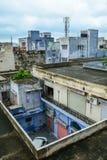 Viele alten Häuser in Jaipur, Indien Lizenzfreies Stockfoto