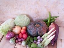 Viele Arten Gemüse Stockbild