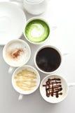 Viele Arten Kaffee Lizenzfreie Stockbilder