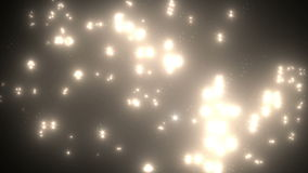 Viele beleuchten Blitz-Effekt stock video