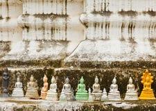 Viele Bilder von Buddha Stockfotos