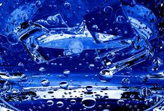 Viele blauen Blebs Vektor Abbildung