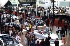 Viele der Autos in der Show Stockfotos