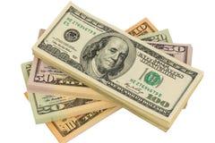 Viele Dollarscheine Lizenzfreie Stockbilder