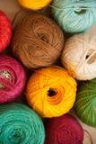 Viele färben Thread Stockfoto