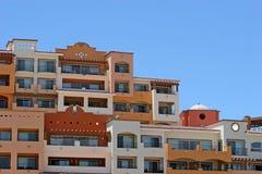 Viele farbigen Eigentumswohnungen Stockfotos