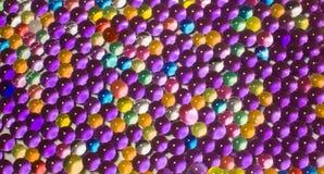 Viele farbigen Hydrogelperlen Lizenzfreie Stockbilder