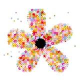 Viele flower1 Lizenzfreie Stockfotos