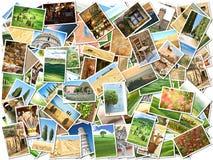 Viele Fotos Stockbilder