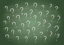 Viele Fragen Lizenzfreie Stockbilder