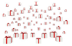 Viele Geschenke Stockbild