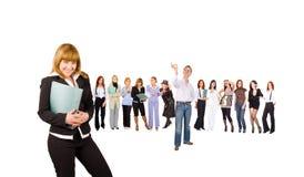 Viele Geschäftsleute Lizenzfreie Stockfotos