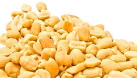 Viele geschmackvollen Erdnüsse stockfotografie