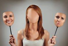 Viele Gesichter 2 Lizenzfreie Stockfotos