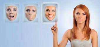 Viele Gesichter Lizenzfreie Stockfotos