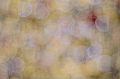 Viele glühenden unscarbe runden Lichter Lizenzfreies Stockbild