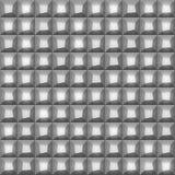 Viele Grauschatten geometrische Beschaffenheit abstrakten Tiling Grauer Farbmosaikfliesenhintergrund Vektorkunst-Bildmuster Stockbilder