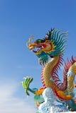 Viele großen Drachen sind Farbe Stockbilder