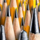Viele hölzernen Bleistifte Lizenzfreie Stockfotografie