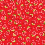Viele hellen, sind frische Beeren einer Erdbeere Stockbild
