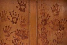 Viele Hände Stockbilder