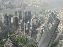 Viele hohen Gebäude Lizenzfreies Stockfoto