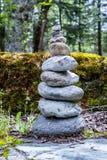 Viele kleinen Steine Stockbilder