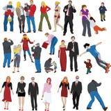 Viele Leute Lizenzfreies Stockfoto
