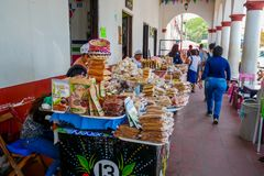 Viele mexikanische Bonbons lizenzfreie stockfotografie
