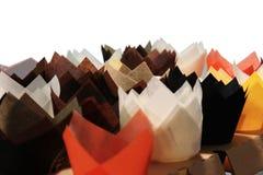 Viele Papierservietten lizenzfreie stockfotografie