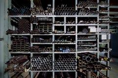 So viele Rohre Lizenzfreies Stockfoto