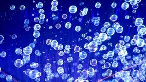 Viele Seifenblasen stock footage