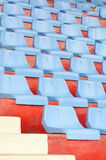 Viele Stühle Stockbild