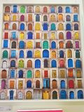 So viele Türen, nur, das Sie in Ihrem Leben wählen lizenzfreie stockfotografie